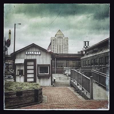 Train Photograph - Virginia Transportation Museum #roanoke by Teresa Mucha