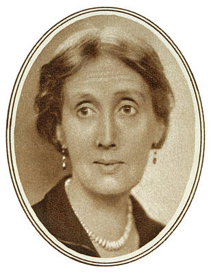 Bloomsbury Photograph - Virginia Woolf  English Novelist by  Illustrated London News Ltd/Mar