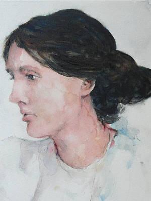 Virginia Woolf Original by Rose Sinatra
