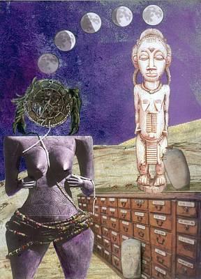 Digital Art - Virgo by Maria Jesus Hernandez