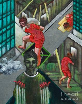 Os Painting - Viro Stulto by Paul Hilario