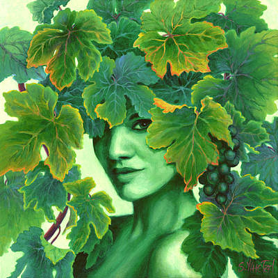 Painting - Virtue In The Vines by Sandi Whetzel
