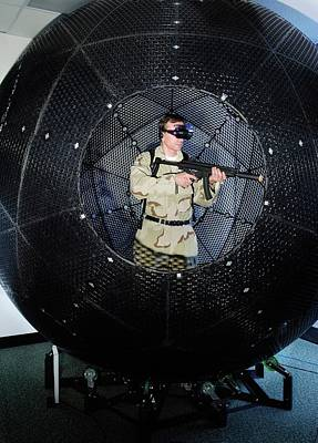 Reality Photograph - Virtusphere Military Training Aid by Us Navy/john F. Williams