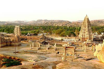 Karnataka Photograph - Virupaksh Temple, Hampi by Rbb
