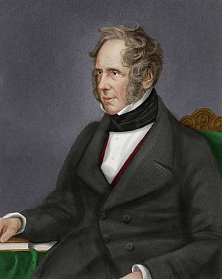 Abolitionist Photograph - Viscount Palmerston by Maria Platt-evans