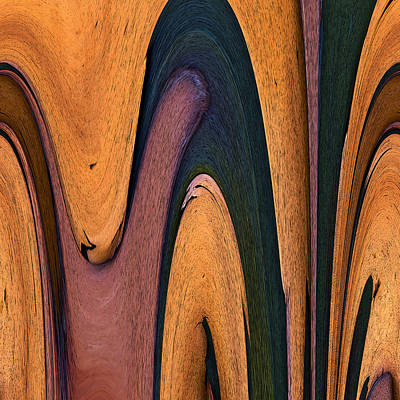 Abstract Photograph - Viscous by Murray Bloom