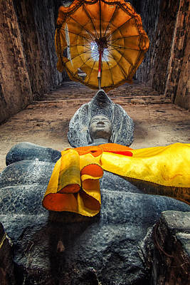 Cambodia Photograph - Vishnu  by Stelios Kleanthous