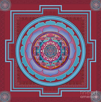 Vishuddha Art Print by Beth Snow