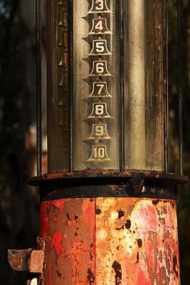 Visible Gas Pump Art Print