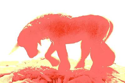 Digital Art - Visible Pink Unicorn 2 by Marc Philippe Joly