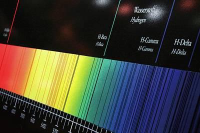 Electromagnetic Spectrum Photograph - Visible Spectrum by Detlev Van Ravenswaay