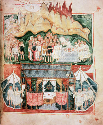 Visigothic Art Vi-vii Century Art Print