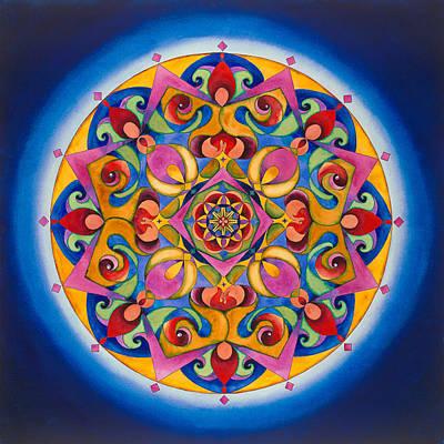 Vision - Brow Chakra Mandala Original