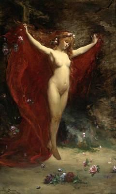 Painting - Vision by Carolus-Duran