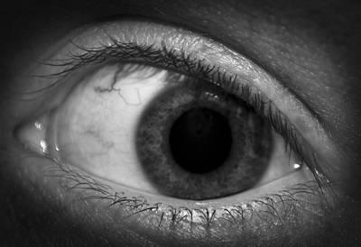 Bloodshot Photograph - Vision by Matthew Blum