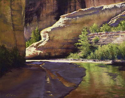 Painting - Vision Quest - Escalante by Marjie Eakin-Petty