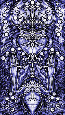 Visionary 8 Art Print by Devin  Cogger