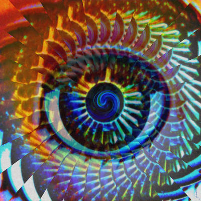 Hypnosis Photograph - Visionary by Gwyn Newcombe