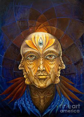 Visionary Portrait Original by Yana Istoshina