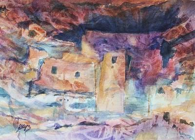 Painting - Visions Of Mesa Verde by Ellen Levinson