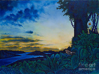 Painting - Visions Of Paradise II by Michael Frank