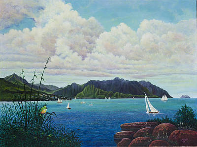 Painting - Visions Of Paradise IIi by Michael Frank