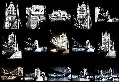 Photograph - Visions Of Tower Bridge by John Rizzuto