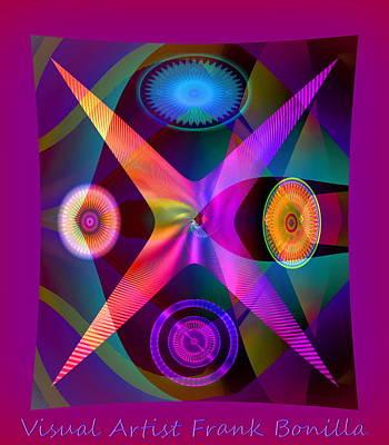 Visions Art Print by Visual Artist  Frank Bonilla