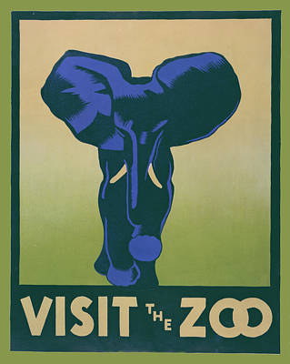 Visit The Zoo Art Print by Unknown