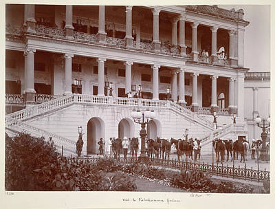 Deen Photograph - Visit To Faluknuma Palace by British Library