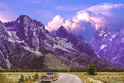 Photograph - Visit Wyoming by Ed Dooley