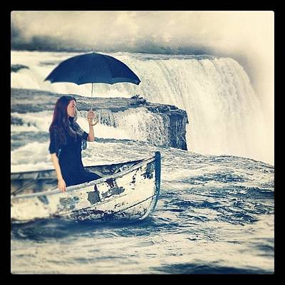 Woman Wall Art - Photograph - Visiting Niagara by Jill Battaglia