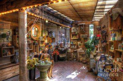 Hdr Photograph - Visiting The Shop by Mathias