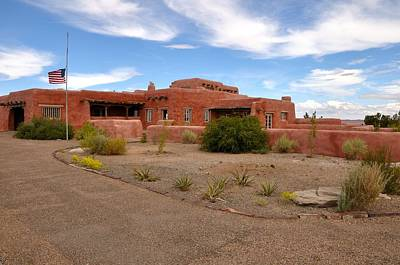 Photograph - Visitor Center At Painted Desert by Gene Sherrill