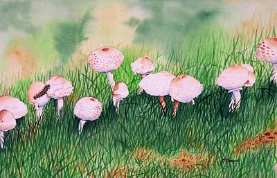 Painting - Visitor To The Fairy Ring by Norman Freyer