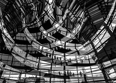 Shopping Photograph - Visitors by Klaus Lenzen