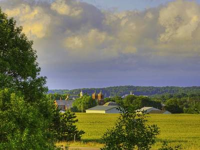 Photograph - Vista At Tildon Wisconsin by Larry Capra