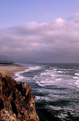 Vista Del Mar San Francisco Print by M Bleichner