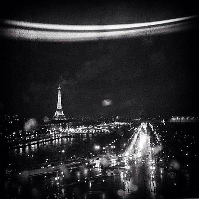 Paris Skyline Photograph - Vista Desde La Gran Noria De #paris by Geovanny Ardila