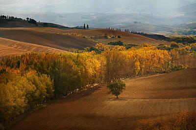 Photograph - Vista Di Toscana by John Galbo