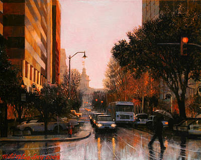 Painting - Vista Drizzle by Blue Sky