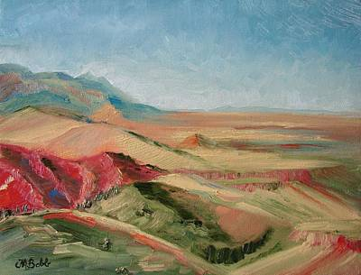 Painting - Vista From Buffalo Bill's Place by Margaret Bobb