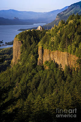 Photograph - Vista House At Crown Point by Sonya Lang