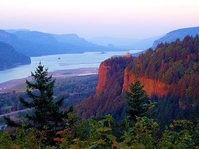 Rowing - Columbia River Gorge - Vista House by Scott Carda