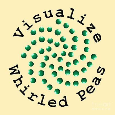Digital Art - Visualize Whirled Peas by Kent Lorentzen