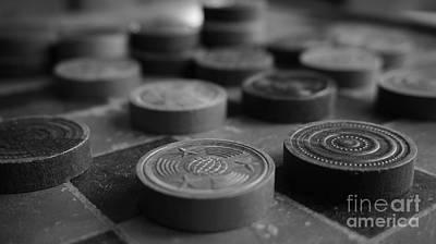 Vintage Checkers Original by Joe Zahra