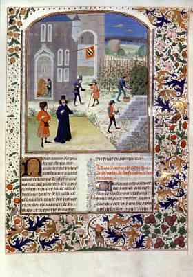 Viticulture, C1470 Art Print