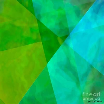 Digital Art - Vitreosity by ME Kozdron