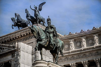 Photograph - Vittorio Emanuele II Monument In Rome by Dany Lison