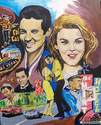 1964 Painting - Viva 50 by Steve Teets